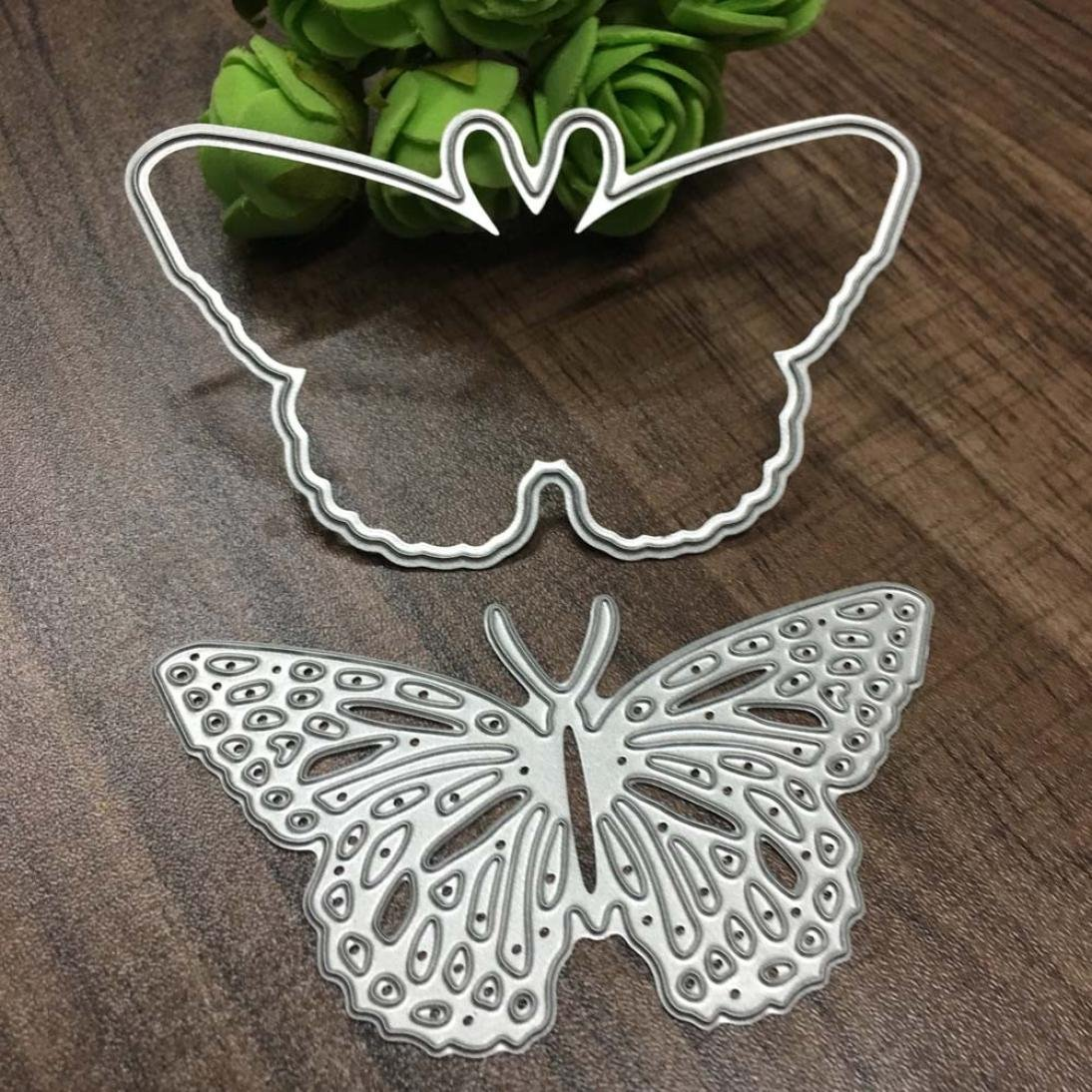 Clearance!VESNIBA Christmas Metal Dies Cutting Die for Cards Making Butterfly Embossing Stencils for DIY Craft by VESNIBA (Image #3)