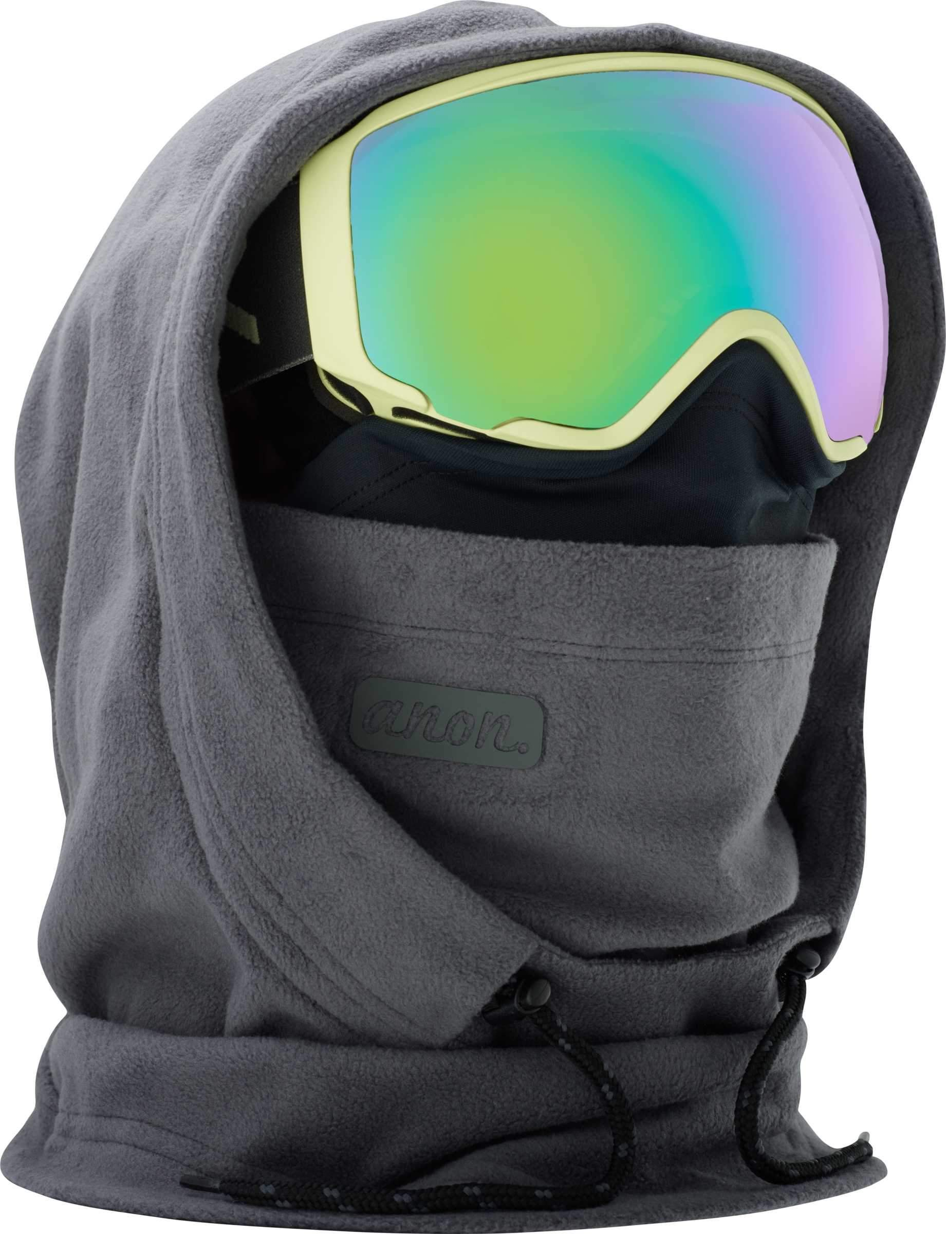 Anon Women's MFI Fleece Helmet Hood Clava, Gray W18