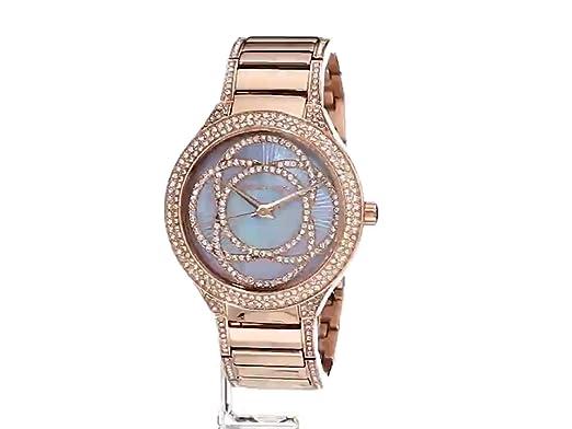 20fcfa9bf730 Amazon.com  Michael Kors Women s Kerry Rose Gold-Tone Watch MK3482  Michael  Kors  Watches