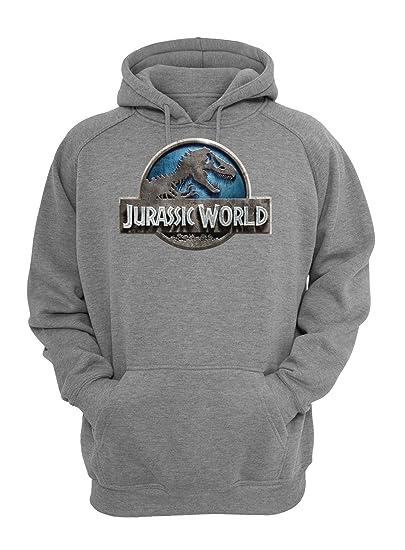 gutes Angebot verkauf uk zum halben Preis MaikesTic Jurassic World Blue Logo Unisex Pullover Hoodie ...