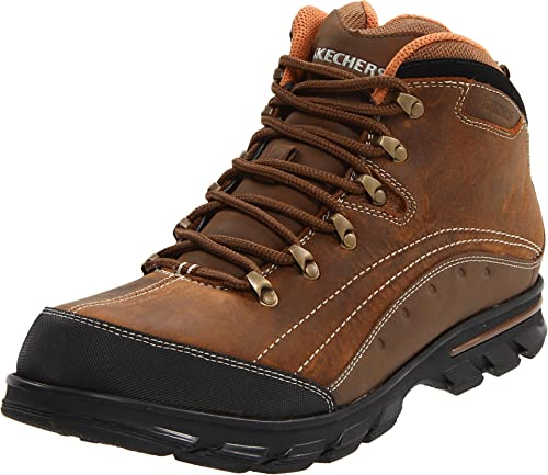 Skechers Rubicon MID TOP LACE UP W - Botas de cuero nobuck para hombre, color