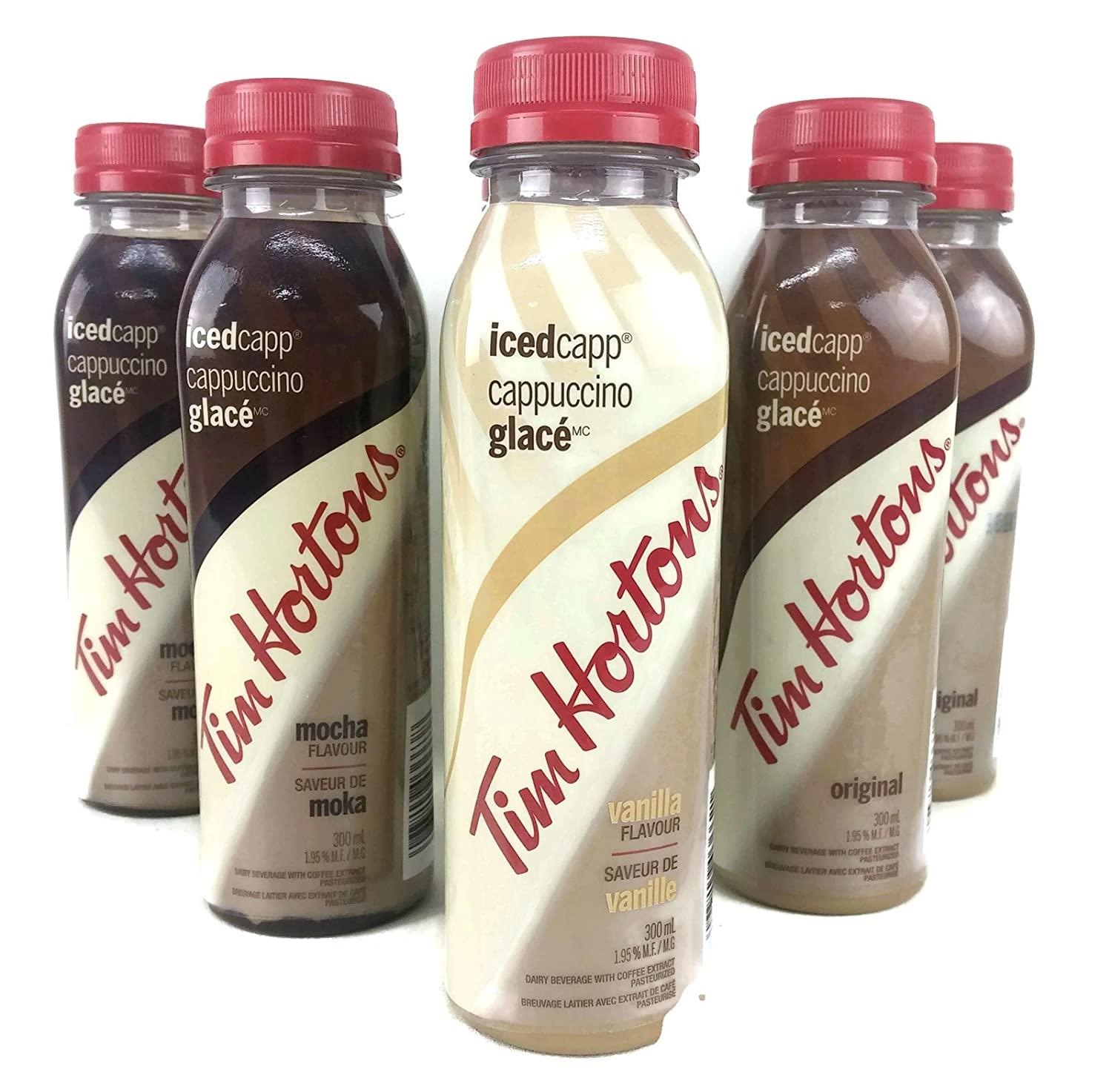 Tim Hortons Icedcapp Cappuccino Ready To Drink Mocha Lotong L1 Bluetooth Headset Vanilla Original 101 Oz 6 Pack Grocery Gourmet Food