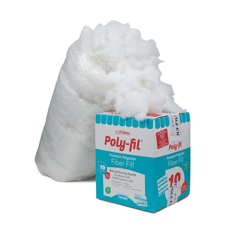 Poly-Fil Supreme Ultra Plush Fiberfill, 12 oz Bag - (2 Bags) Fairfield