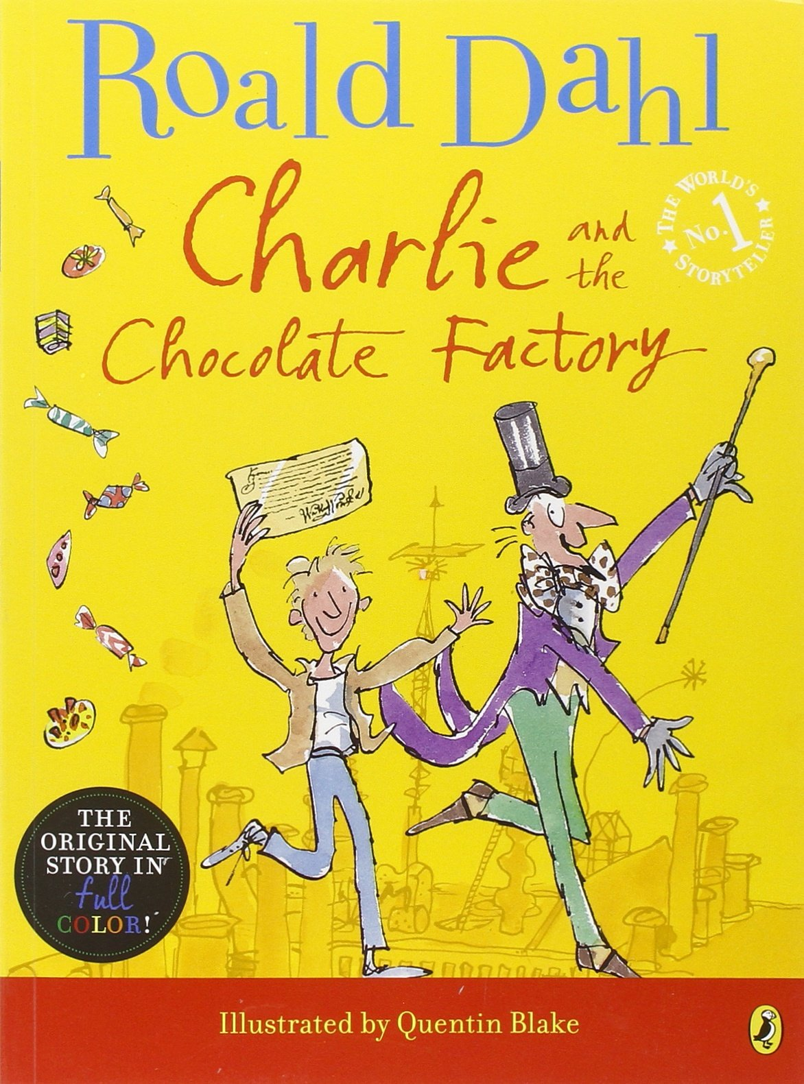 Charlie and the Chocolate Factory (Puffin Modern Classics): Roald ...