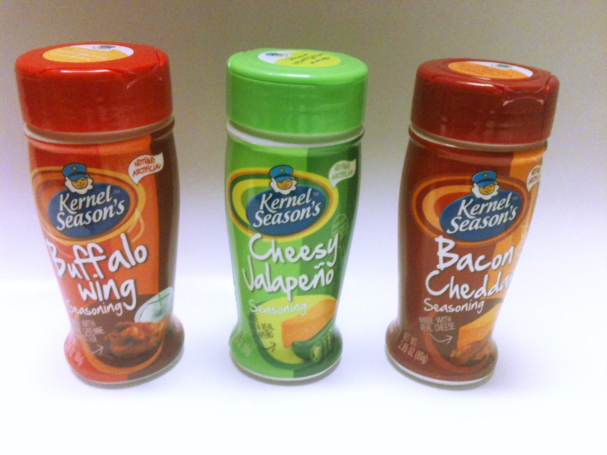 Kernel Season's Popcorn Seasonings Spicy Variety Pack (3 Different Flavors) by Kernel Season's (Image #1)