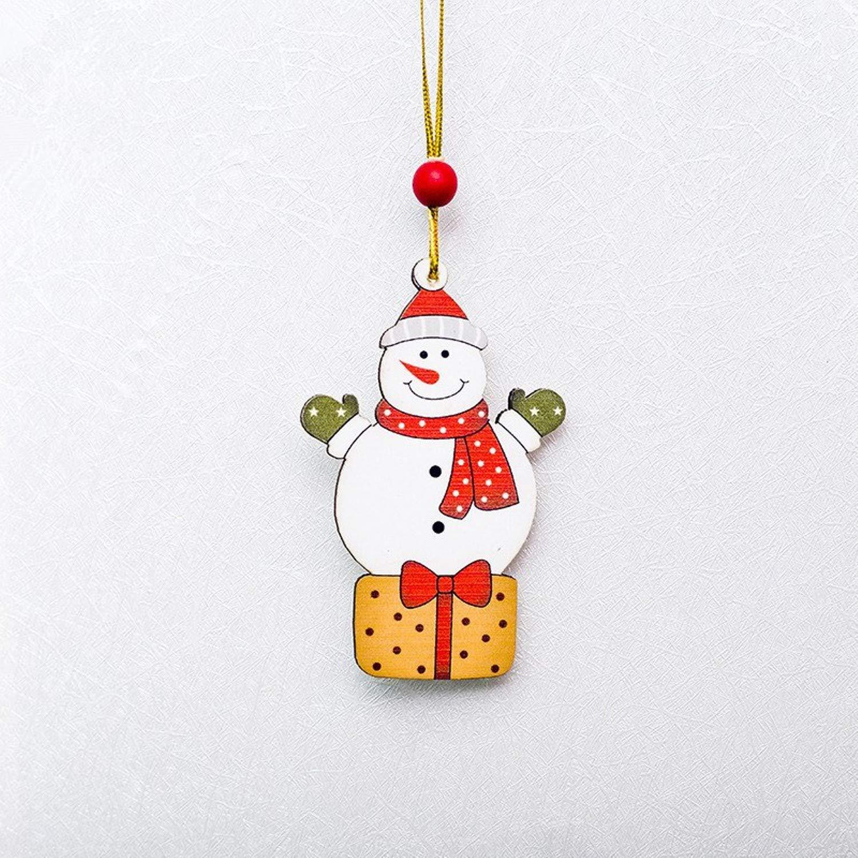 Amazon.com: CHITOP Cute Santa Clause,Bow,Bell Christmas Tree ...