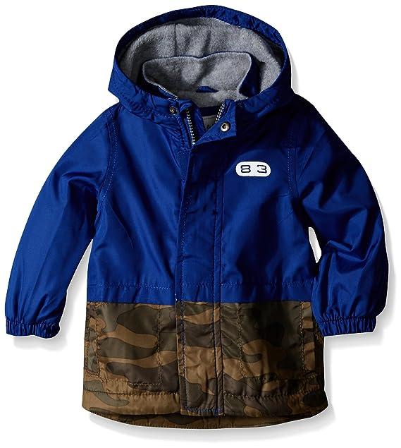 Amazon.com  Carter s Baby Boys  Colorblock Fleece Lined Windbreaker   Clothing 059ae0a37