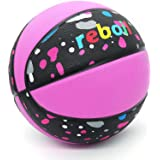 REBOIL Super Grip Rubber Basketball (Size 4 Kids, Size 5 Youth, Size 6 WNBA, Size 7 NCAA & NBA) – Indoor and Outdoor