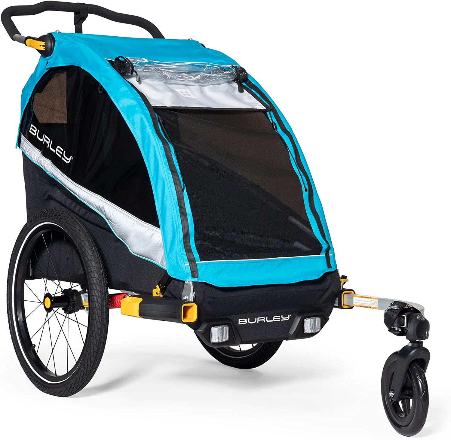 Burley D/'Lite X Kids Bike Trailer and Double Stroller for sale online