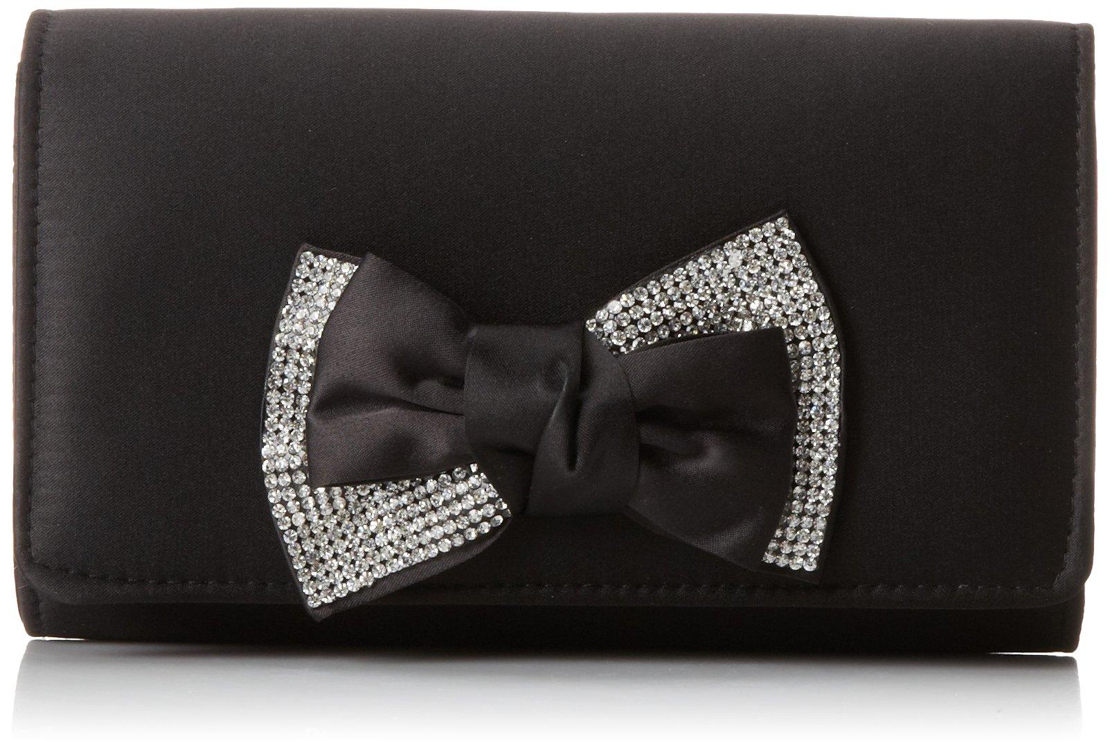 Nina Lafferty-L Clutch, Black, One Size