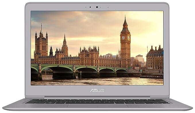 "Asus ZenBook Ultra-Slim Laptop, 13.3"" Full HD, 8th Gen Intel i5-8250U Processor, 8GB RAM, 256GB SSD, Backlit Keyboard, Fingerprint Reader, Anti-Glare, Windows 10, Grey, UX330UA-AH55"