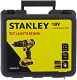 Stanley SBH20D2K-TR Li-Ion Kömürsüz Şarjlı Darbeli Matkap, 18v/2.0ah, Sarı