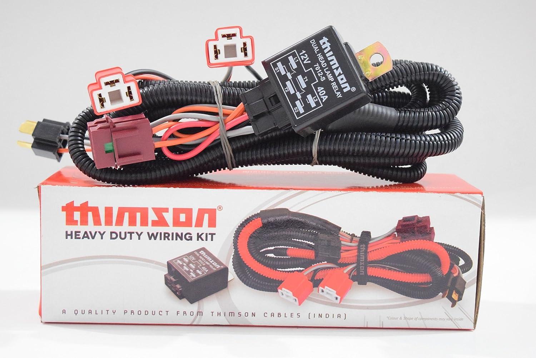 Thimson Headlamp Wiring Kit Car Motorbike In India Photo