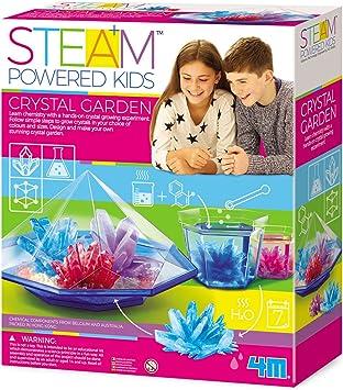 4M- Set jardín de Cristal, Multicolor (00-04901): Amazon.es: Juguetes y juegos