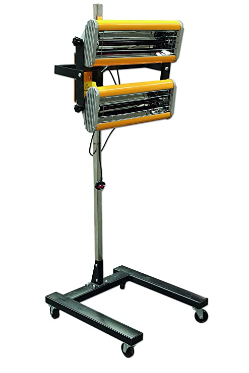 Power-Tec 92442 Infrarrojos lámpara de Secado de Pintura