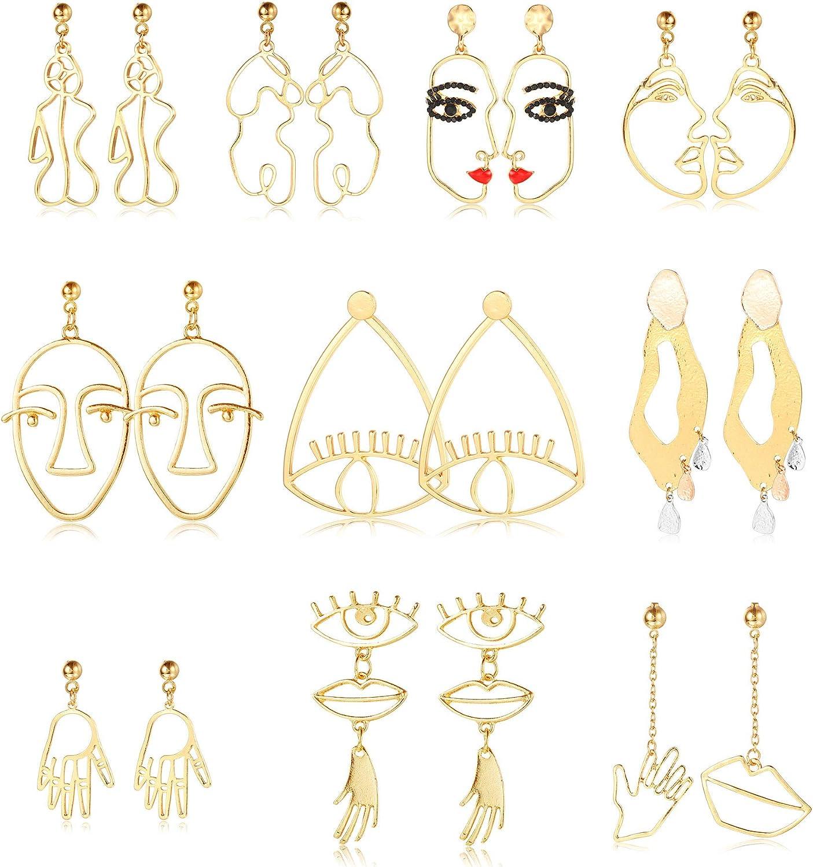 statement drop dangle earrings sun dangle earrings Sun face drop dangle earrings face drop dangle earrings