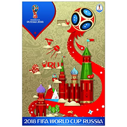 4bd798cea Amazon.com  FIFA World Cup Poster 2018