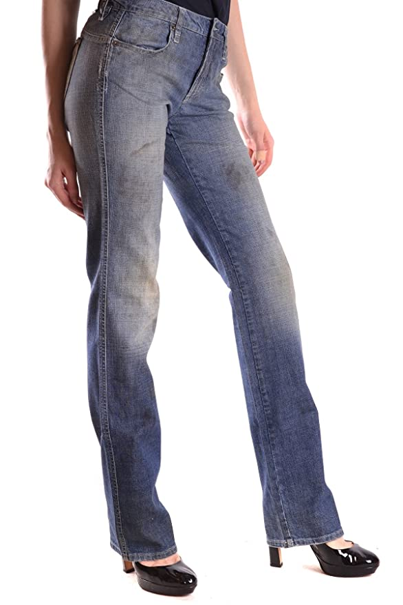 Costume National Damen Mcbi074046o Blau Baumwolle Jeans: Amazon.de:  Bekleidung