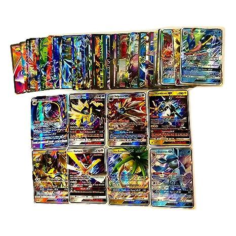 Dorara 100 Tarjetas (80EX + 20GX) Pokemon EX GX Tarjetas ...