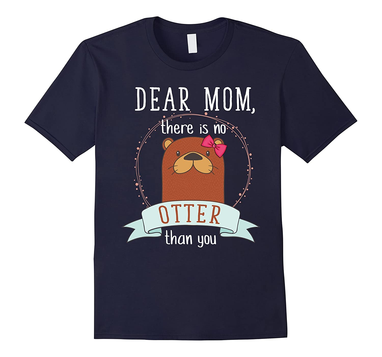 Happy Mothers Day T-Shirt Dear Mom You Are The Best-Vaci
