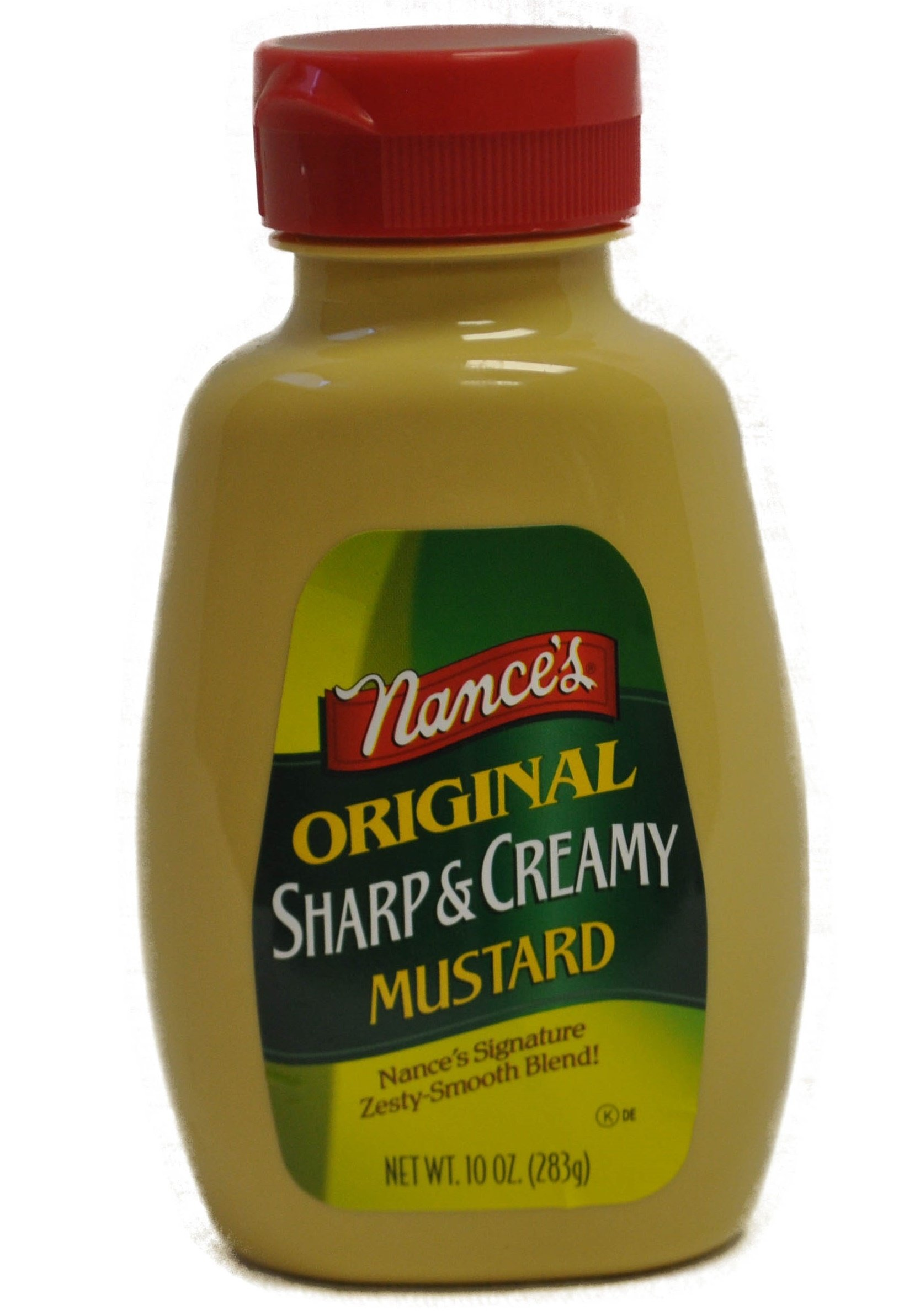 Nance's Mustard Sharp & Creamy 10.0 OZ(Pack of 12)