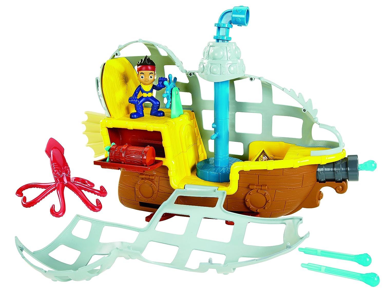 Fisher Price - Jake et les pirates - BDJ02 - Jouet De Bain - Bucky Sous Marin Mattel