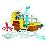 Mattel Fisher-Price BDJ02 - Jake und Nimmerland Piraten U-Boot Bucky