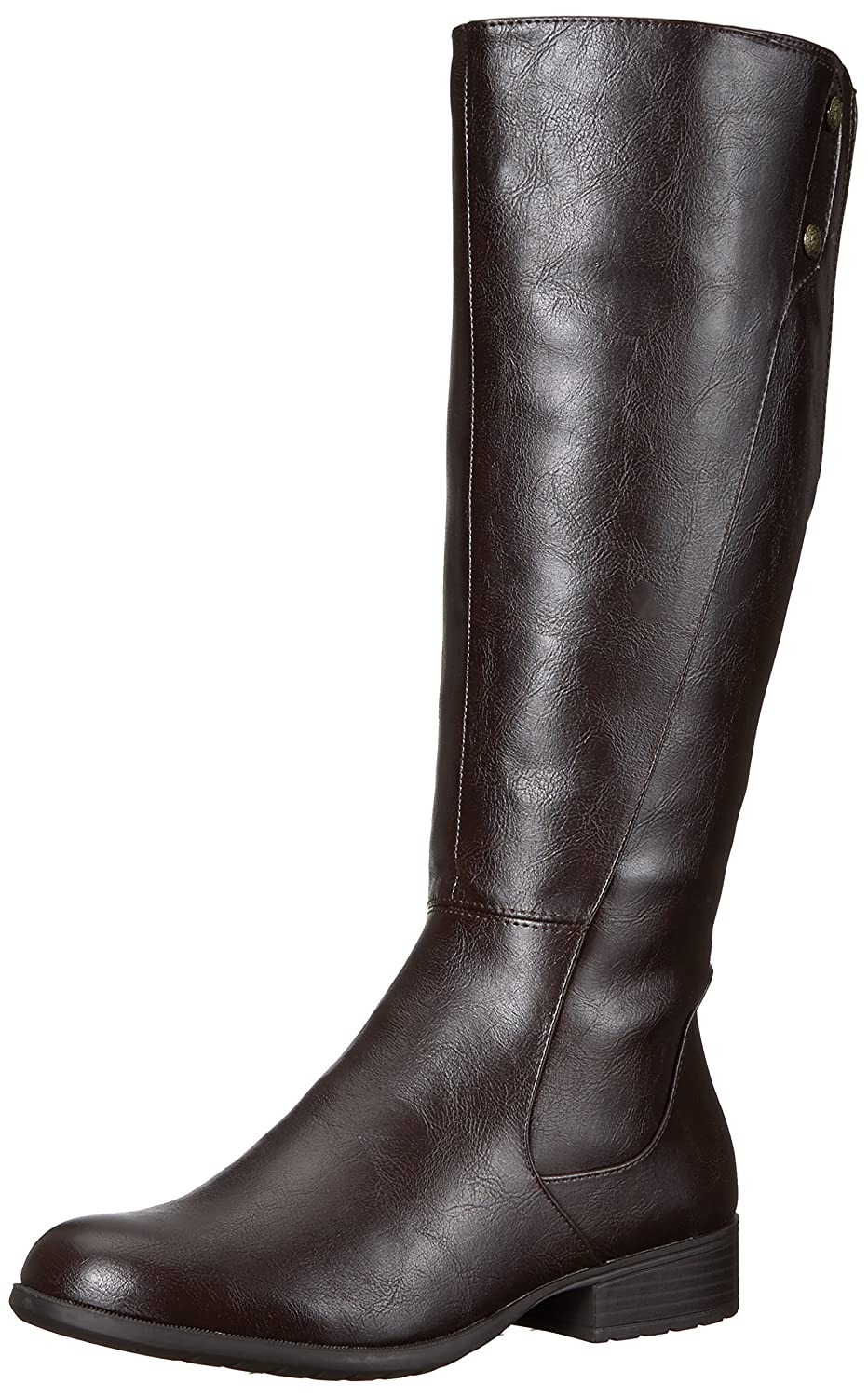 LifeStride Women's Xripley Riding Boot B072K7M438 9.5 W US|Dark Brown