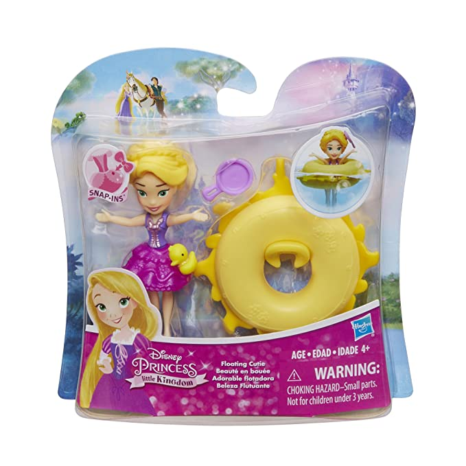 Amazon.com: Disney Princess Little Kingdom Floating Cutie Rapunzel: Toys & Games