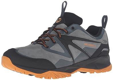 2dee53ce610e Merrell Capra Bolt Leather Waterproof Men 8 Dark Slate