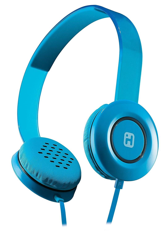 Amazon.com: iHome Stereo Headphones with Flat Cable - Black (IB35BRC ...