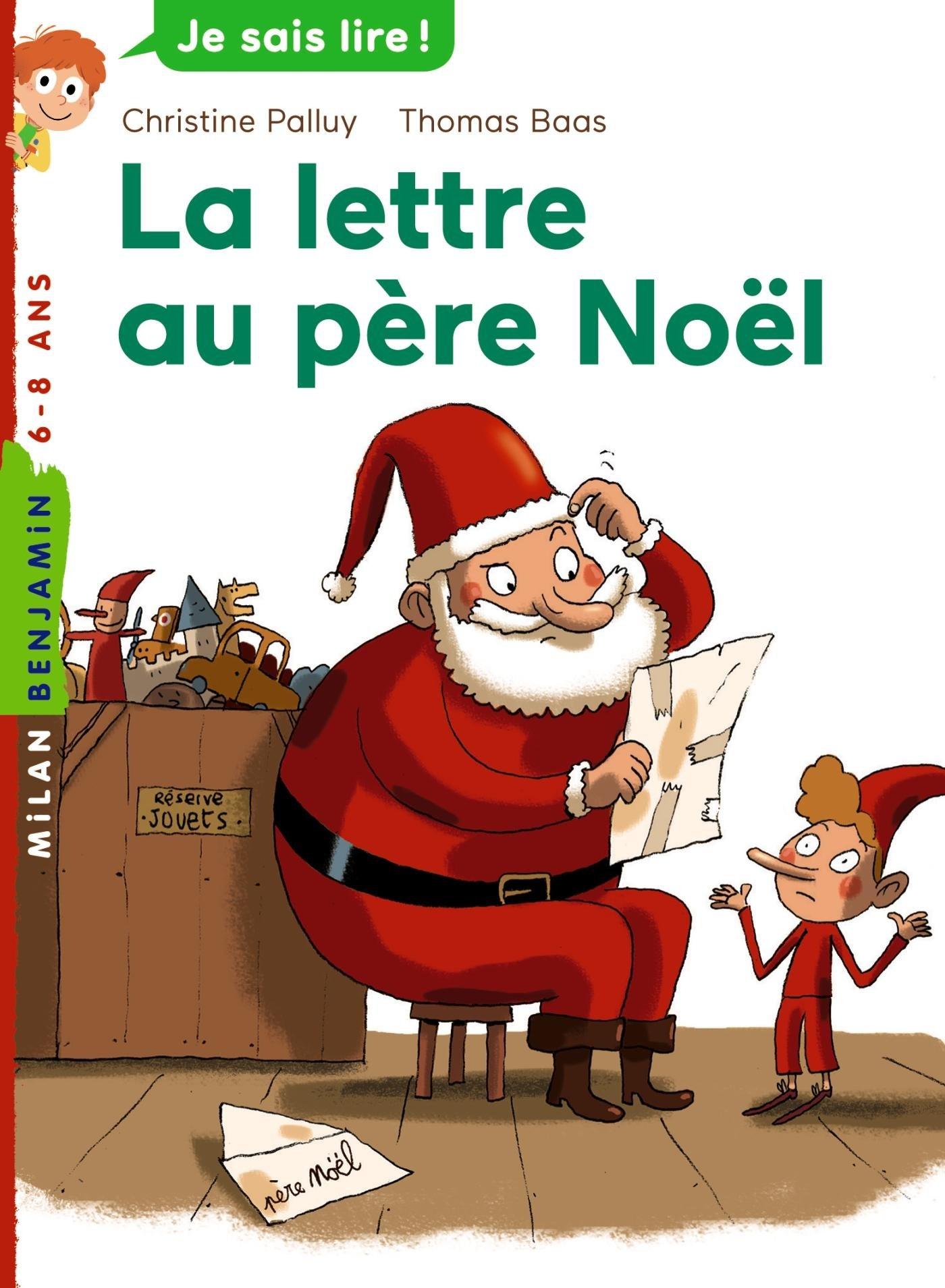 la lettre livre Amazon.fr   La lettre au père Noël   Christine Palluy, Thomas Baas  la lettre livre