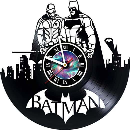 Amazon.com: Batman - Robin - The Dark Knight - Vinyl Record Wall ...