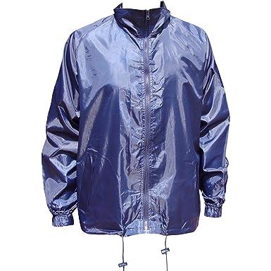 TeddyT s Men s Wind Resistant Showerproof Packaway Plain Hooded Jacket   Amazon.co.uk  Clothing a331328328