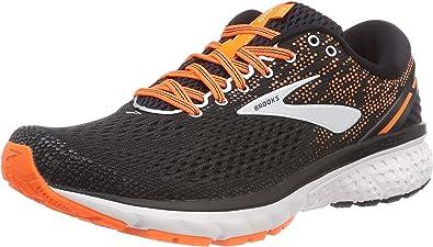 Brooks Ghost 11, Zapatillas de Running para Hombre, Multicolor (Black/Silver/Orange 093), 42 EU: Amazon.es: Zapatos y complementos