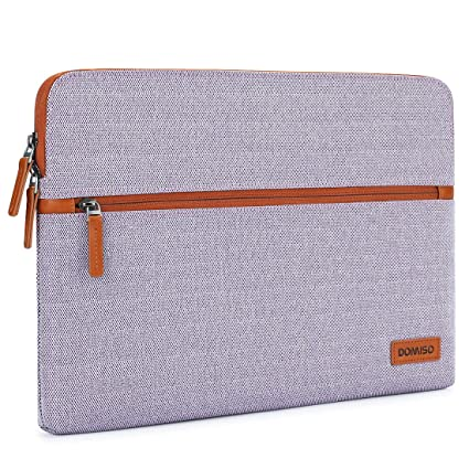 f499c499299f DOMISO 14 Inch Laptop Sleeve Canvas Case Tablet Protective Bag for 14