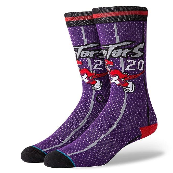 Stance Calcetines Nba Toronto Raptors 96 Hwc The Uncommon Thread morado/negro/rojo talla: 43 al 46 EU I 9-11.5 USA I 8.5-11 UK: Amazon.es: Ropa y accesorios