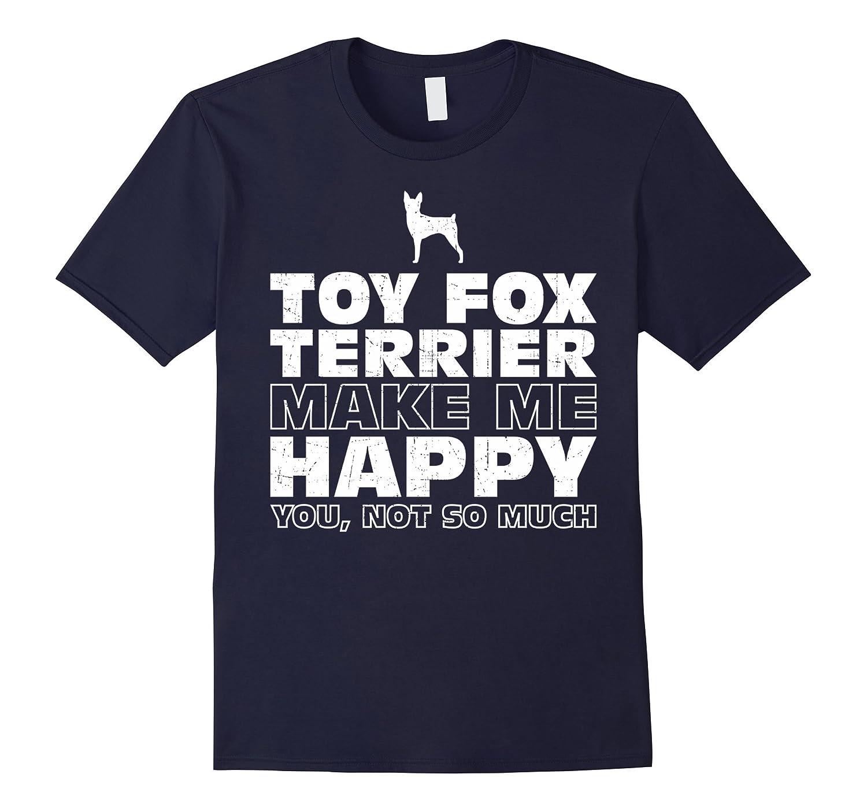 TOY FOX TERRIERS Make Me Happy T-Shirt-Art