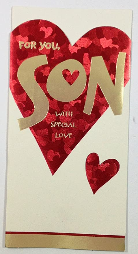 Amazon valentine card for sonfor you son with special love valentine card for sonfor you son with special loveby american greetings m4hsunfo