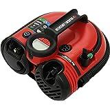 Black+Decker Akku-/12V-Kompressor / Luftpumpe, 160PSI, für Reifen, Bälle etc., Akku-betrieben, Automatik-Abschaltung, integriertes Reifenventil, ASI500