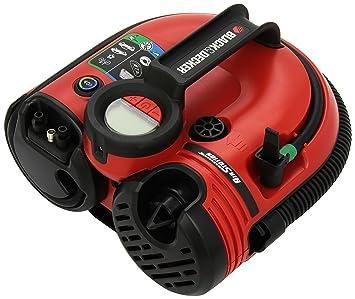 Black and Decker ASI500-QW - Bomba de aire con batería (conectores de 12