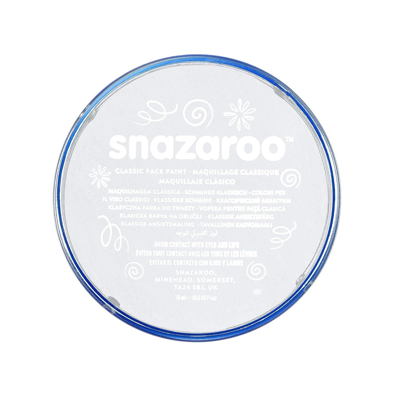Snazaroo 1118000 Classic Face Paint, 18ml, White