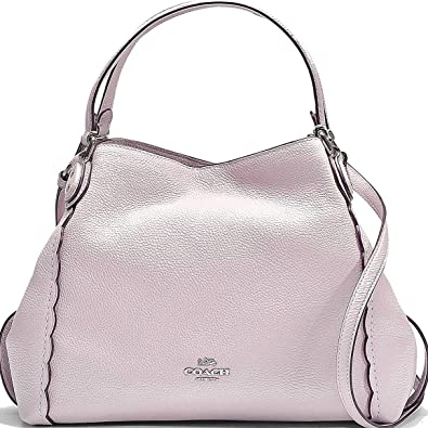 COACH Women s Edie 31 Shoulder Bag with Prairie Rivets Sv Ice Pink One Size 63bd9f8ec7097