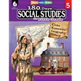180 Days of Social Studies: Grade 5 - Daily Social Studies Workbook for Classroom and Home, Cool and Fun Civics Practice…