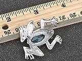 Alilang Cat Eye Aquamarine Crystal Rhinestone