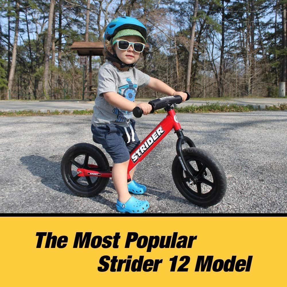 Strider Ages 18 Months to 5 Years 12 Sport Balance Bike