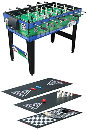 Triumph Sports USA 48 Inch MLS 10 In 1 Combo Table Foosball