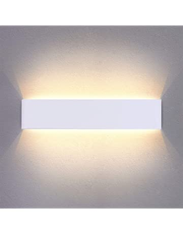 21880d8c2da6 14W 950LM LED Wall Lights Up Down White Sconce 40CM Aluminium Acrylic Wall  Lamp Warm White
