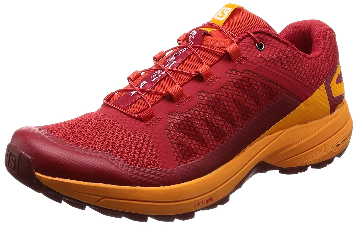 Salomon XA Elevate, Zapatillas de Trail Running para Hombre 42 2/3 EU|Rojo (Barbados Cherry/Bright Marigold/Syr 000)