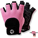 AyeKu Workout Gloves for Men & Women Gym Exercise Gloves Fingerless Gloves Full Palm Protection, Breathable & Non-Slip